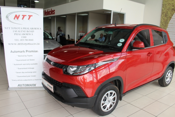 MAHINDRA KUV 100 1.2 K4+ for Sale in South Africa