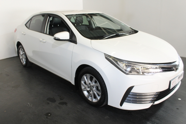 TOYOTA COROLLA 1.6 PRESTIGE CVT - NTT Volkswagen - New, Used & Demo Cars for Sale in South Africa